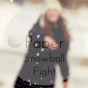 Paper Snowball Fight